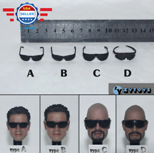 1/6 Scale ZY Toys 4 Styles Plastic Black Glasses Sunglasses for 12'' figure