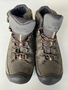 Keen Mens Targhee III Mid Waterproof Walking Boots Brown Sports Outdoors UK 10