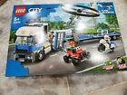 LEGO Police Helicopter Transport City Police 60244 Sealed Box Damaged