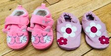 Baby Girls Bundle Of Shoes Size 3 Infant Sho Shoos Next <D3424