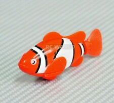 Water Toy Robo Fish Nemo Electric Auto Swim Function Tub, Pool, Aquarium Orange