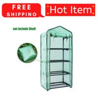 4 Tier Portable Mini Greenhouse Garden Waterproof Portable With PE Cover
