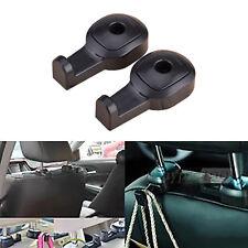 2Pcs Universal Car Seat Headrest Hook Hanger Coat Bag Luggage Storage Holder