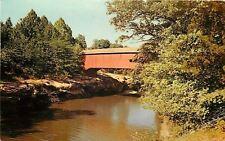 Rockville Indiana~Narrows Bridge Across Sugar Creek~Turkey Run St Park 1950