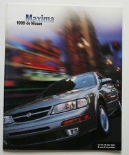NISSAN MAXIMA 1999 dealer brochure - French - Canada - ST2003000918