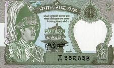 NEPAL 2 RUPEES CURRENCY UNC