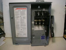 Square D 30 Amp Heavy Duty Safety Switch Model HU361RB