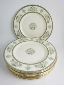 8 Minton Henley Salad Plates Made in England    (item#b7)