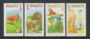 Brésil - 1993, Brésilien Flore & Faune Ensemble - MNH - Sg 1478/81
