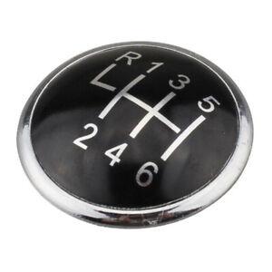Car 6 Speed Gear Knob Badge Emblem Trim Cap Fit For VW Transporter T5 Hot