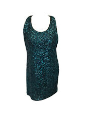 ALICE AND OLIVIA WOMENS/LADIES SEQUINNED DRESS SIZE M