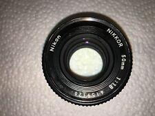 Nikon Nikkor AIS 50mm F1.8 Lens Pancake