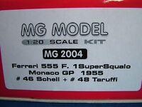 MG MODEL PLUS 20.04 - 1955 FERRARI 555 F1 - 1:20TH SCALE RESIN & METAL KIT