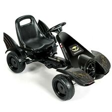 Kids Classic Pedal Car | Black Colored Pedal Powered Formula One Batman Similar