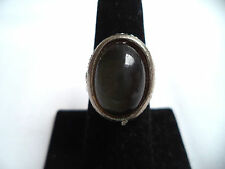 GORGEOUS VINTAGE WAREHOUSE NOS 1960'S DUSTY GRAY/GREEN SIZE ADJ RING!!! WGA1505