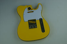 Voodoo Vibe Tele Telecaster Guitar BODY Edge Bound Yellow