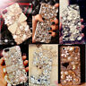 Full Bling Diamond Rhinestone Crystal Jewelled Luxury Handmade Clear Case Cover