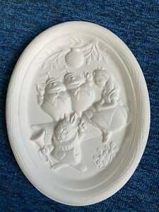 Disney  Alice in Wonderland, white rabbit ceramic bisque u paint ready to paint
