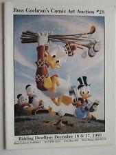 Original Art Catalog RUSS COCHRAN COMIC ART AUCTION #28