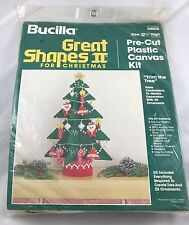 """Bucilla Great Shapes 2 for Christmas Kit #61008 """"Trim the Tree"""""""