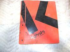 KUBOTA B26 TL500 BT820 TRACTOR LOADER BACKHOE WORKSHOP SERVICE MANUAL