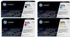 HP LASERJET 507A GENUINE ORIGINAL SET 500 TONERS CE400A CE401A 2A 3A M551 M575