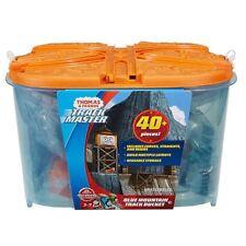 Trackmaster Thomas Friends ~ Azul Mountain Track & Cubo ~ Inc de más de 40 piezas
