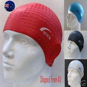 Men Women Waterproof Adults Silicone Swimming Cap Big Large Hat Long Hair SMC02