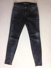 Miss Sixty Style Jeans Hose Grau Nadelstreifen W25 L32