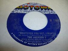 Soul Unplayed NM! 45 THE JACKSON 5 Whatever You Got, I Want on Motown
