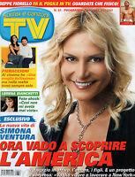 TV SORRISI E CANZONI=N°51 15/12/2007=SIMONA VENTURA=PIERACCIONI=BEPPE FIORELLO
