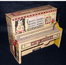 Antique Tin Toy PIANO L'il Abner Dogpatch