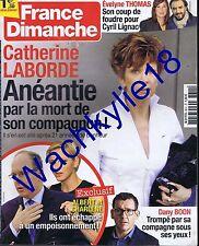 France dimanche n°3611 du 13/11/2015 Catherine Laborde Dany Boon Monaco