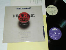 BEAU DOMMAGE Leurs Plus Grands Succes En Spectacle 2-LP SET Au Forum de Montreal