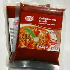 PANANG CURRY PASTE TASTY AUTHENTIC THAI QUALITY LARGE VALUE 250g PACK - INT POST