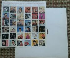 Limited Edition Stamps Elvis Presley1950's RCA Record Label Covers Set MINT