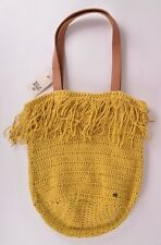 2016 NWT BILLABONG NEW SUMMER LINE FRINGE BUCKET BAG $70 gold rush crochet