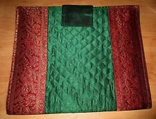India Cloth Tapestry Folio Organizer