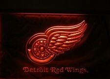 """DETROIT RED WINGS RED LITE SIGN 12"""" X 8 3/4"""""""