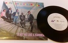 Huey Lewis And The News - It Hit Me Like A Hammer - 1991 7 Inch Vinyl Single