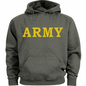 Army hoodie Men's US Army hooded sweatshirt United States Army hoody