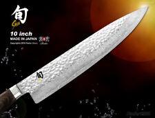 Shun Premier Damascus Chef's Knife 10 inch Gyutoh Cutlery Kai Flatware Slicer