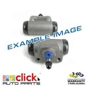 PAIR BRAKE WHEEL CYLINDERS REAR for HOLDEN BARINA TK NON-ABS 12/2005-04/2007
