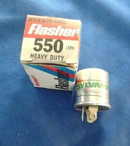 Sylvania Heavy Duty Flasher # 550 12V 3-Prong