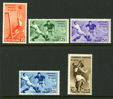 Italy 324-328 Mint 1934 Issue World Soccer Set MNH € 400.00 6F18 17