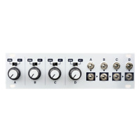 Intellijel Quadratt 1U Quad Attenuator, Attenuverter & Mixer Eurorack Module