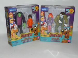 Scooby Doo 50th Year Anniversary Figures Walmart Exclusive Set Of 2 Daphne Velma