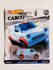 Hot Wheels 2018 Car Culture Cargo Carriers Ford Transit Super Van Gulf Oil 2/5