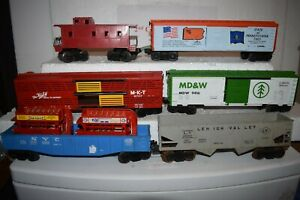 O Scale Trains Lionel Lot (6) Rolling Stock (NYC) (LV) (MKT) (MDW) (SOP)
