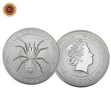 WR Australian 2015 1oz 999 Silver One Dollar Coin - Funnel Web Spider Edition